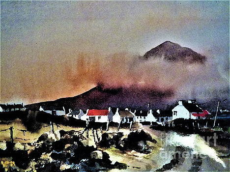 Val Byrne - Storm over Dugort, Achill....163