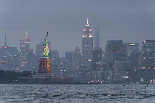 Storm Over Manhattan by Marcelo Barrera