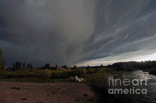 Cindy Murphy - NightVisions - Storm over McCall ID