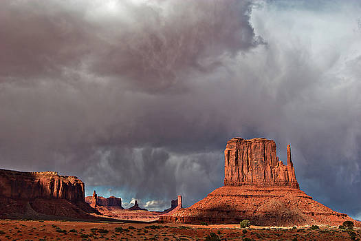 Storm over Monument Valley by Wesley Aston