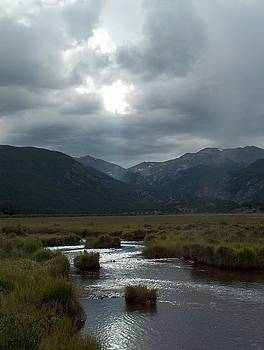 Storm over Moraine Park Rocky Mountain National Park by Denise   Hoff