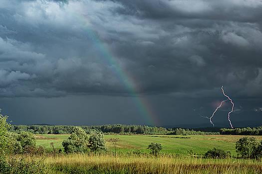 Storm Over Tatra Mountains Poland by Steve Gadomski