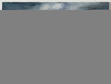 Storm Over the Hudson by Gloria Cigolini-DePietro