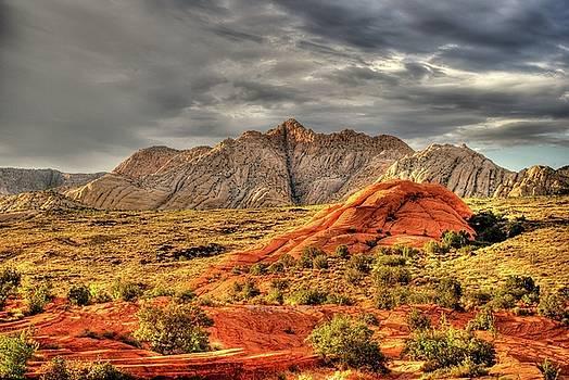 Storm Over Utah by John Johnson