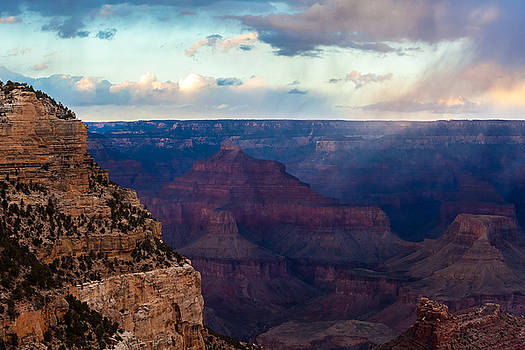 Storm Passes the Grand Canyon by Ed Gleichman
