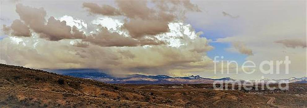 Storm Pasted Over by Wanda J King