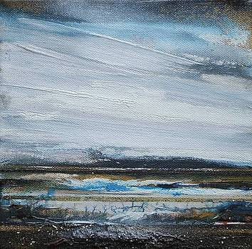 Storm Series Druridge bay by Mike   Bell