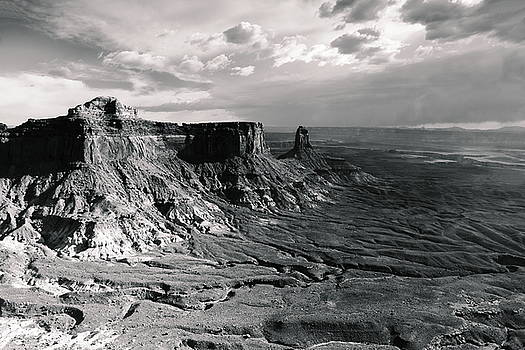 Storm Sky over Canyonlands by Roupen  Baker