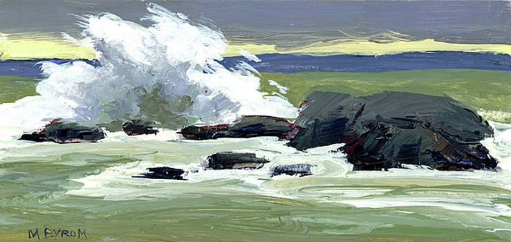 Storm Surf by Mary Byrom