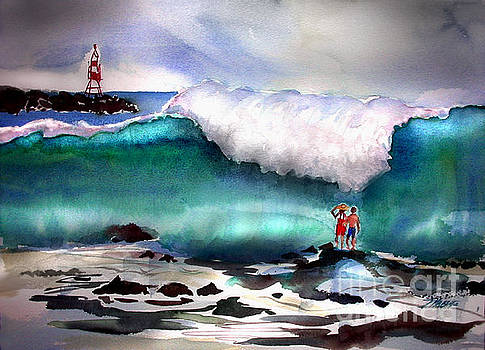 Storm Surf Moment by John Mabry