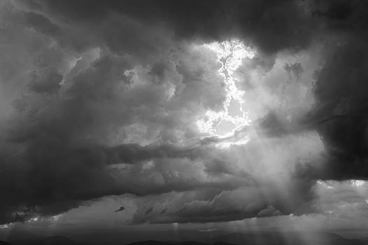 Storming Over the Foothills by Colleen Coccia