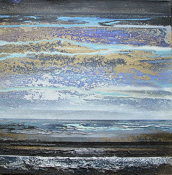 Storms and Beach Rhythms and textures no2 by Mike   Bell
