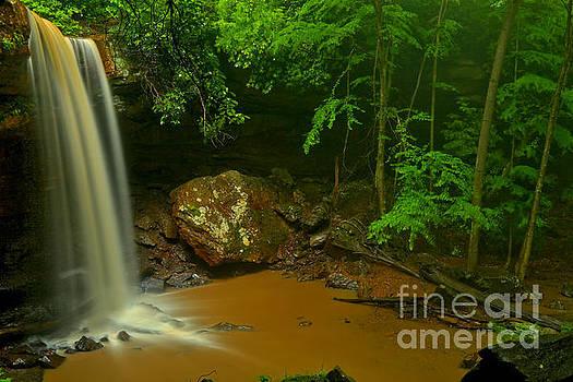 Adam Jewell - Storms Over Cucumber Falls