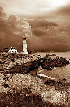 Skip Willits - STORMS OVER THE HEAD SEPIA