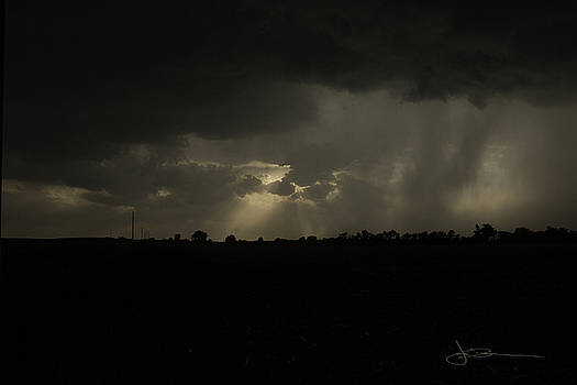 Storm's Passing by Jim Bunstock