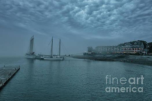 Stormy Bar Harbor Night by Elizabeth Dow