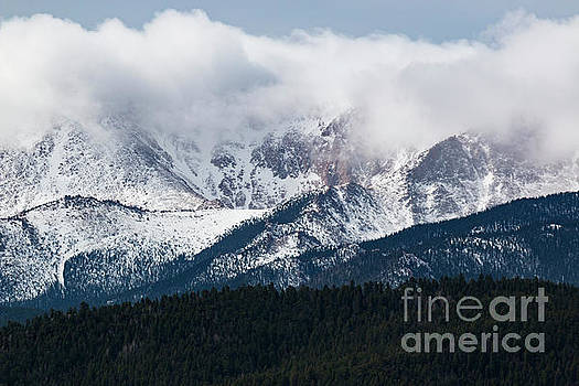 Steve Krull - Stormy Clouds on Pikes Peak