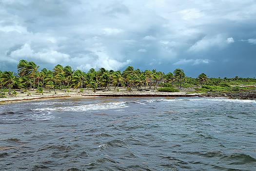 Stormy Day at Costa Maya by John M Bailey
