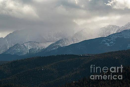 Steve Krull - Stormy Day on Pikes Peak