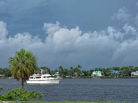 Stormy Day On The Intercoastal by William Tasker