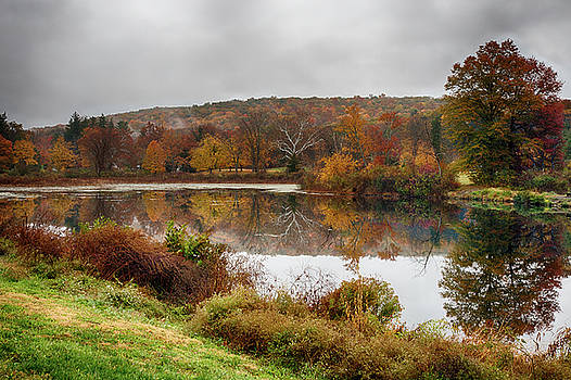 Stormy Fall Morning by John Dryzga