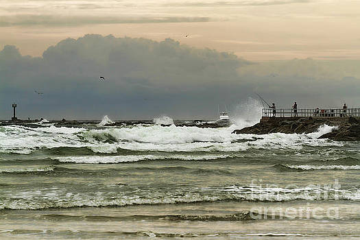 Deborah Benoit - Stormy Fishing