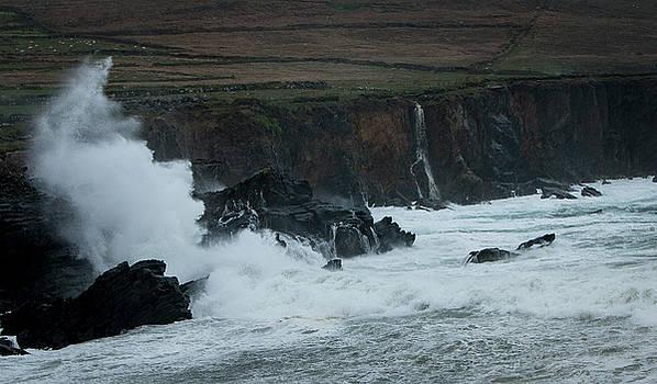 Stormy Irish Seas by Nicole Robinson