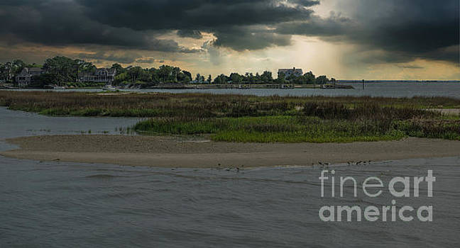 Stormy Island Life by Dale Powell