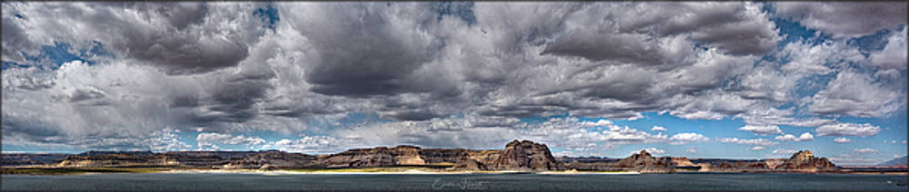 Erika Fawcett - Stormy Lake Powell