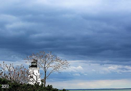 Stormy Lighthouse by Stacie Fernandes