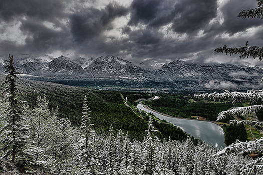 Stormy Mountain by Donna Caplinger