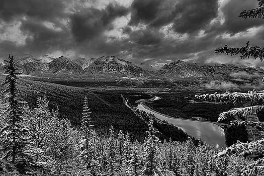 Stormy Mountains by Donna Caplinger