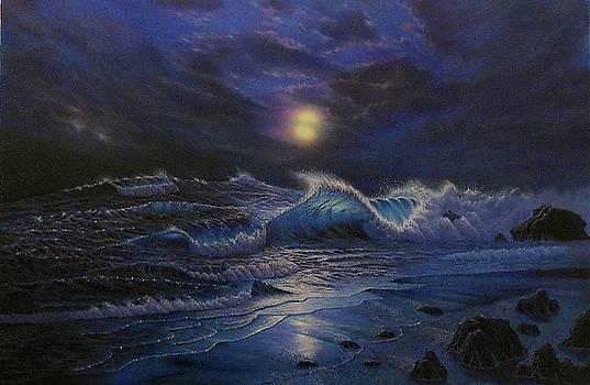 Stormy Night by Thomas Futyna
