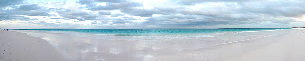 Stormy Ocean View Beach Panorama Photo by Jeff Schomay