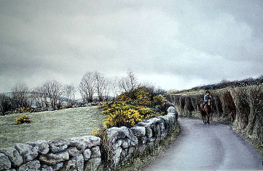 Stormy Ride on The Moor by Rosemary Colyer