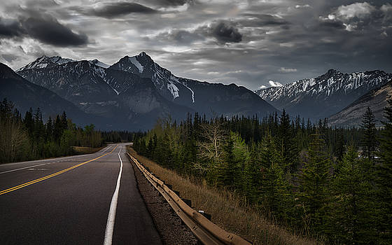 Stormy Road by Mohsen Kamalzadeh