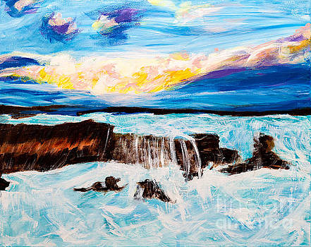 Stormy Sea by Art by Danielle