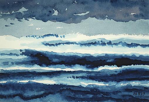 Stormy Sea by Cynthia Schoeppel