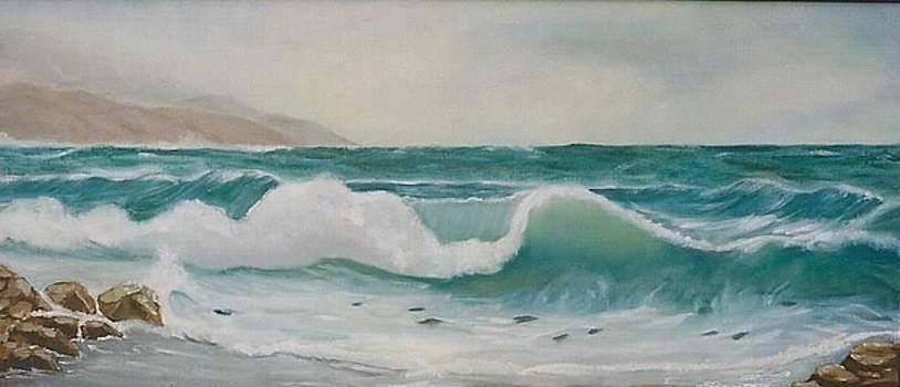 Ilona MONTEL - Stormy Sea