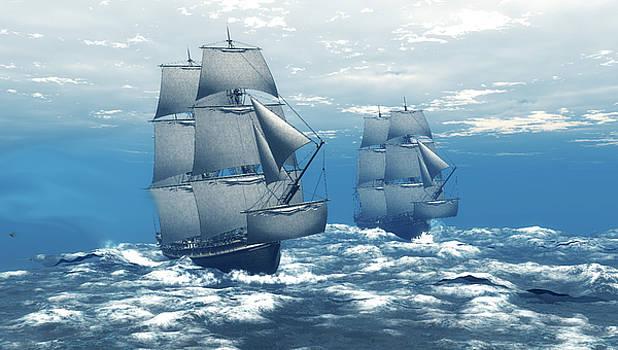 Stormy Sea by John Junek