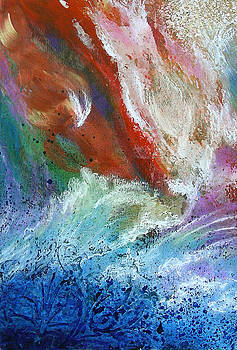Stormy Sea by Lenore Walker