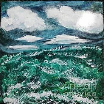 Stormy Seas by Romani Berlekov