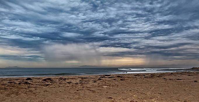 Stormy Skies over Ventura California by Angela Stanton