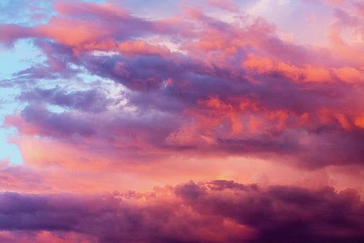 Stormy Southwest Sunset Horizontal by SR Green