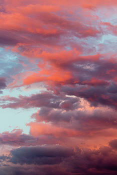 Stormy Southwest Sunset Vertical by SR Green