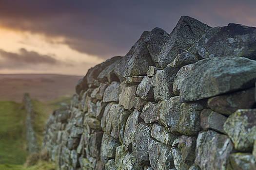 David Taylor - Stormy stone wall