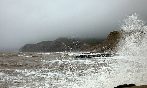 Stormy Sunday in West Bay by Mike Finding