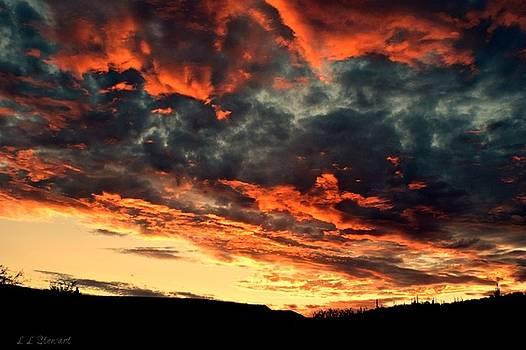 Stormy Sunrise by L L Stewart