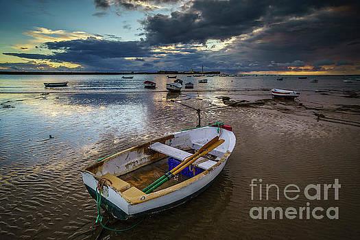Stormy Sunset at La Caleta Cadiz Spain by Pablo Avanzini
