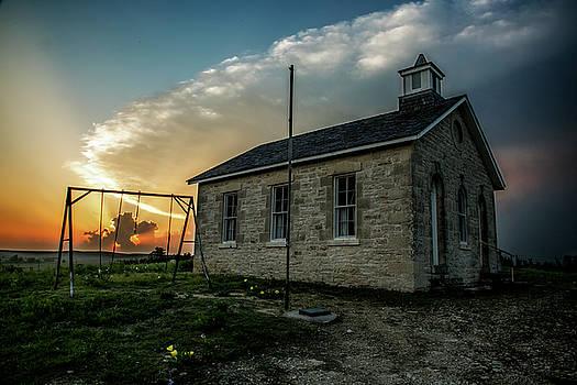 Stormy Sunset by Crystal Socha